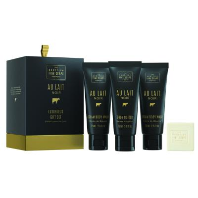 Scottish Fine Soaps Комплект Au Lait Noir / 4 продукта