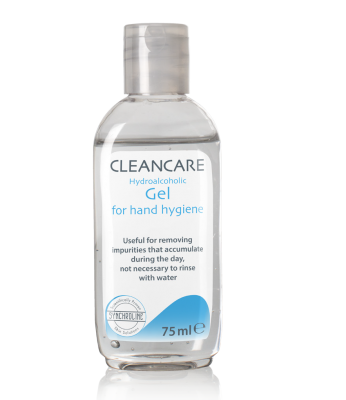 Synchroline Cleancare Hydroalcoholic Gel Почистващ гел за ръце, 74мл