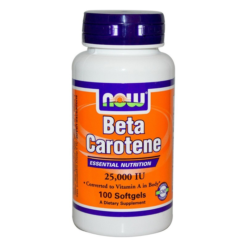 Now Foods Beta Carotene 25,000 IU